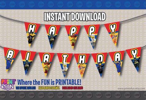 printable lego happy birthday banner 8 best images of free printable banner lego movie lego