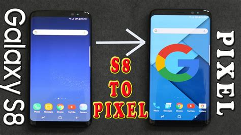 themes galaxy s8 how to make samsung galaxy s8 look like google pixel s