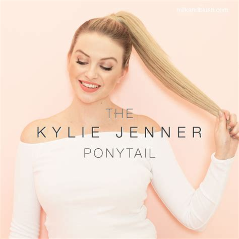 kylie jenner hair extensions review 7 easy steps to make the kylie jenner inspired ponytail