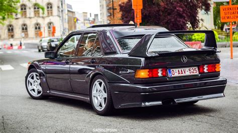 Mercedes 190 Evo 2 by Mercedes 190e 2 5 16 Evolution Ii Acceleration