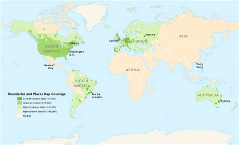 globe coverage maps world boundaries and places 4 0 coverage map