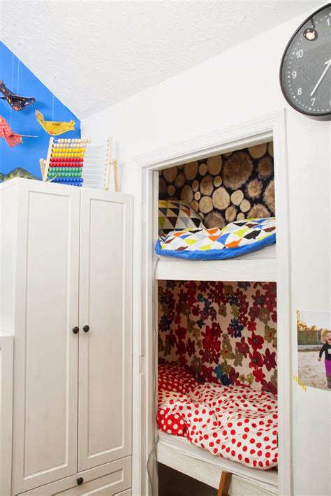 Bunk Bed With Closet 20 Ideas To Turn That Boring Closet Into Something Wonderful