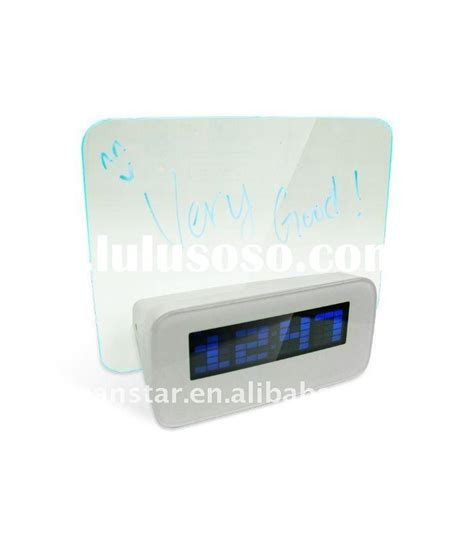 Lcd Display Alarm Clock With Memo Board 003 Oem led memo board led memo board manufacturers in lulusoso page 1