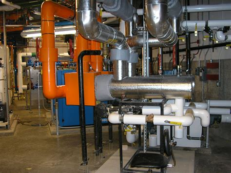 mechanical room commissioning a leed platinum science building construction specifier