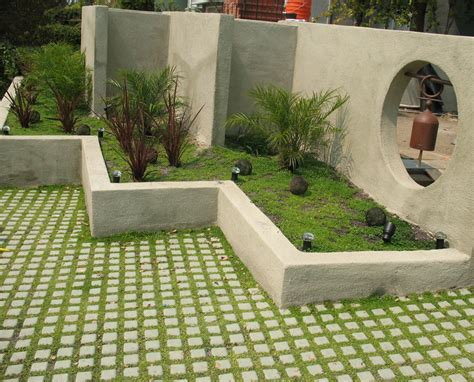 grass for patio drivable turf soil retention