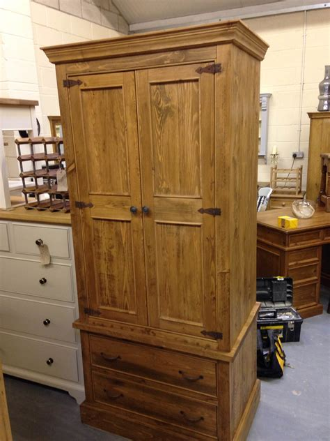 rustic pine wardrobe wolds furniture company