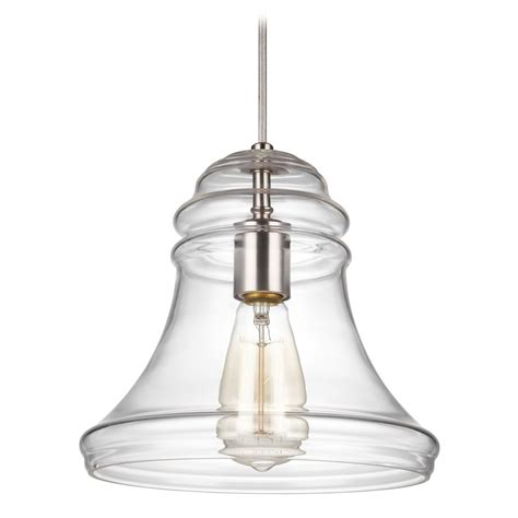 Nickel Mini Pendant Light Feiss Lighting Doyle Satin Nickel Mini Pendant Light With Bowl Dome Shade P1440sn
