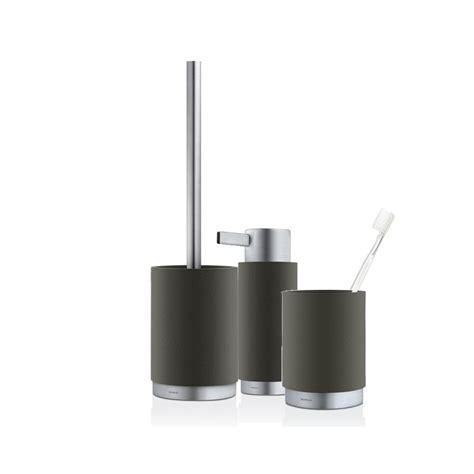 Blomus Bathroom Accessories Blomus Ara Bathroom Set Anthracite Black By Design