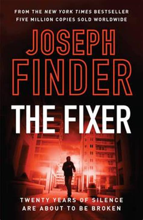fixer book the fixer joseph finder 9781784081317