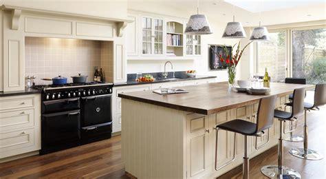 original kitchen with blue island harvey jones