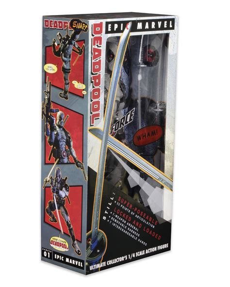 figure packaging neca 1 4 scale x deadpool figure packaging the