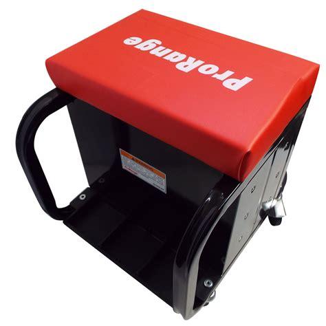 mechanics roller seat with drawers mechanics seat with 3 drawer locking tool box workshop