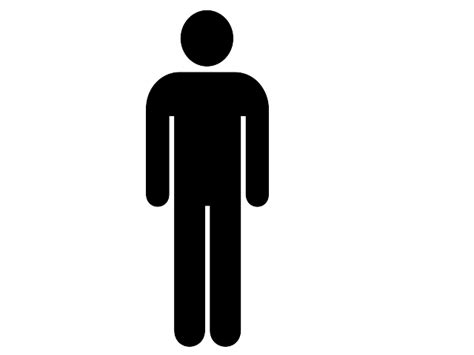 bathroom sign person male bathroom symbol clipart best