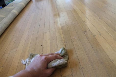 diy wood floor treatment