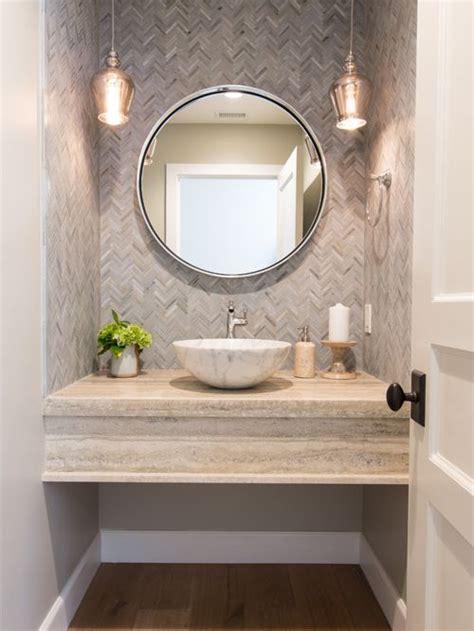 Cloakroom Design Ideas, Renovations & Photos with Mosaic Tiles