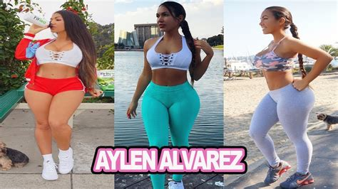 aylen alvarez fitness model booty gym workout routines aylen alvarez fitness model bigger booty workout