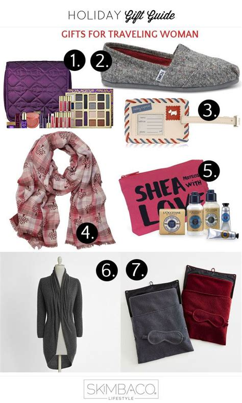 holiday gift guide gifts for the woman who travels