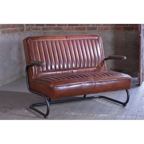 Leather Retro Sofa Hereo Sofa Leather Retro Sofa