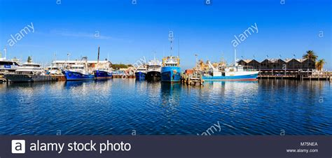 fishing boat harbour fremantle fishing boat harbour stock photos fremantle