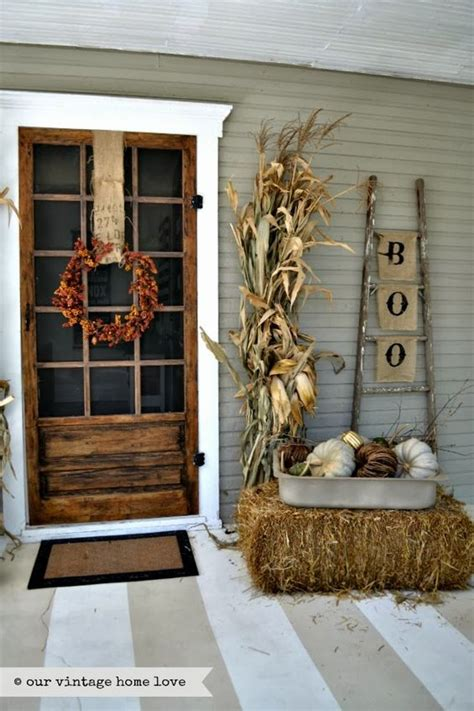 fall porch decorating ideas  designs