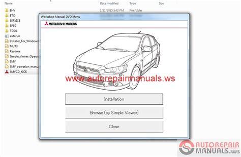 small engine service manuals 2003 mitsubishi lancer electronic toll collection mitsubishi lancer 2015 and lancer sportback 2015 service manual cd auto repair manual forum