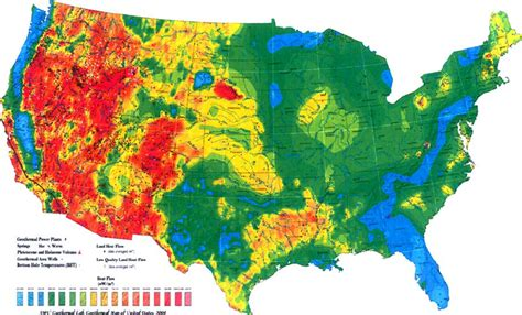 heat map of america heat flow map of conterminous united states subset of