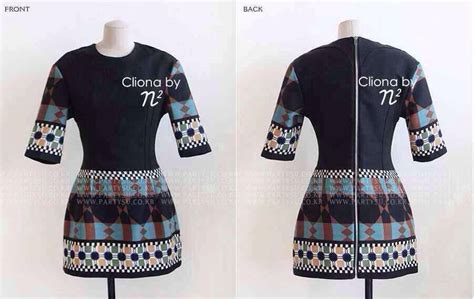 Dress Cliona เดรสสวย dress cliona made modern bohemine style 0048