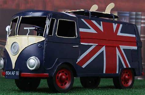 vintage medium size green tinplate  mini cooper car model tma tindecomodelscom