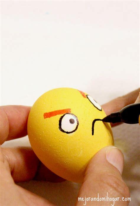 decorar huevos como pintar huevos de pascua de angry birds mejorando mi