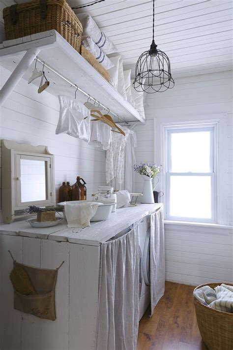 laundry room curtains   trick  wonderful clutter