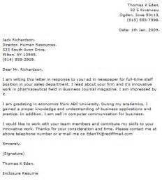 Executive Cover Letter Exles by Executive Cover Letter Exles Cover Letter Now
