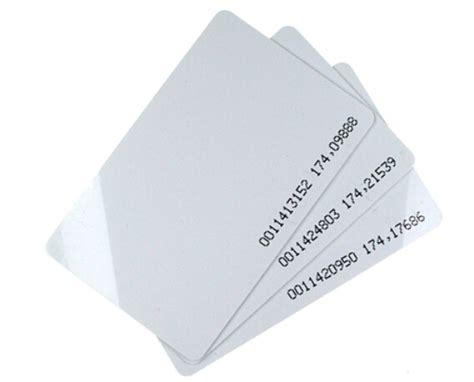 Kartu Rfid Proximity 125 Khz Card Rfid Tag T1910 6 jual rfid card 125khz kartu rfid absensi jogja yogyakarta