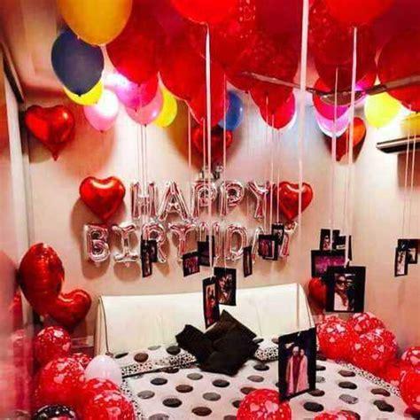 surprise birthday room decoration  bangalore order