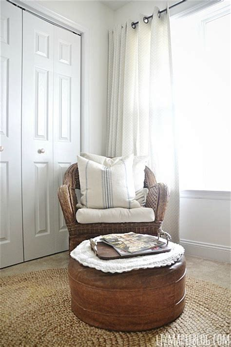 wicker chair for bedroom front guest bedroom makeover wicker chair