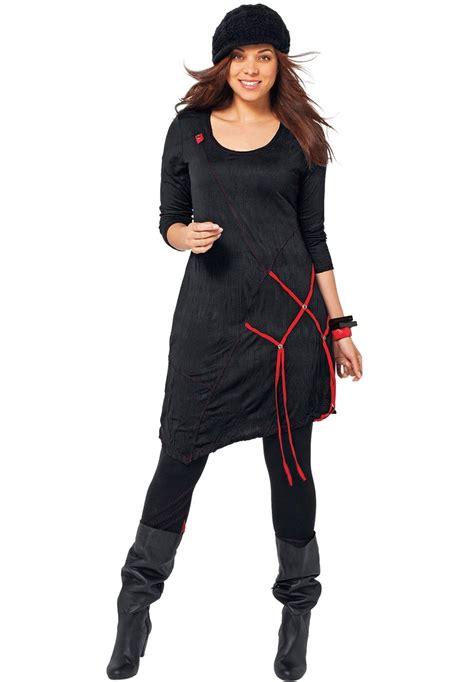 Blouse Jesica Tunic Tunik asymmetrical ribbon hem tunic by tallissime 174 plus size tops fashion