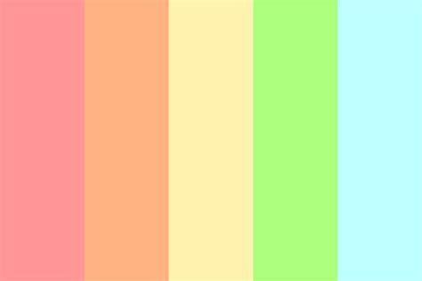 rainbow color palette patel rainbow color palette