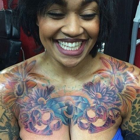 color tattoo on brown skin the most amazing and also attractive color tattoos on