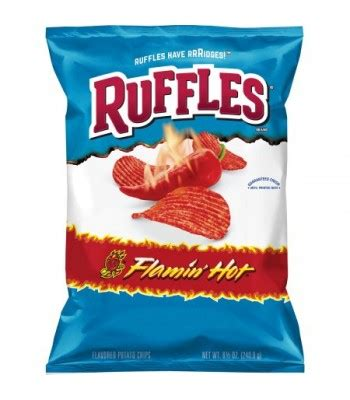 Ruffles Potato Chips 184g tostitos hint of lime tortilla chips 11oz 312g