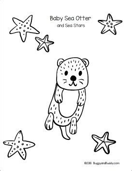 Paper Bag Sea Otter Craft for Kids with Free Printable