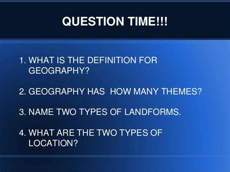 theme definition geography the five themes of geography