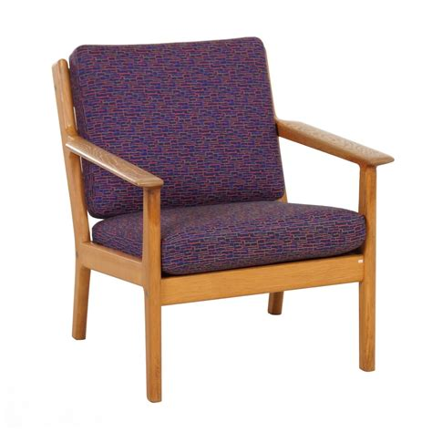 hans wegner armchair vintage danish ge 265 armchair by hans wegner for getama