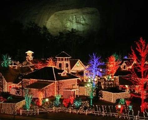 stone mountain begins christmas season mcintosh trail