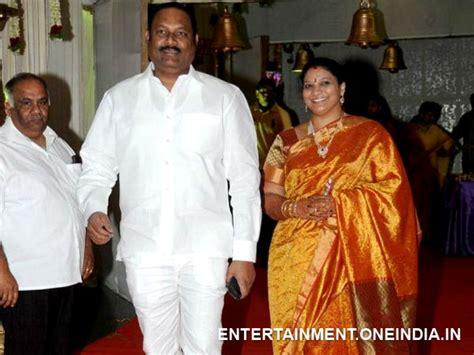 actor raja and his wife rajamouli rajasekhar nani at raja ravindra s daughter