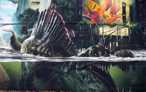 streets madc jurassic park wall germany arrested