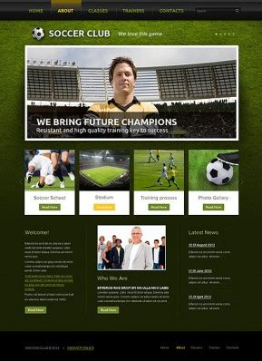 Green Templates Free Website Templates For Academy