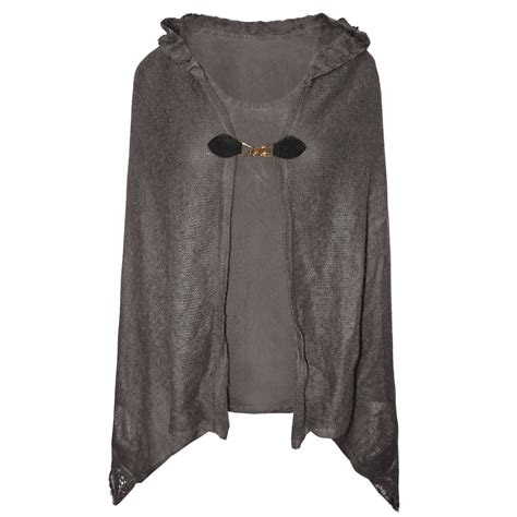 knitted cape cardigan womens hooded cape knitted poncho matching tops