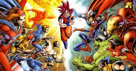 Kaos Saitama V Goku Z Vs Marvel On D 233 Fonce Tout