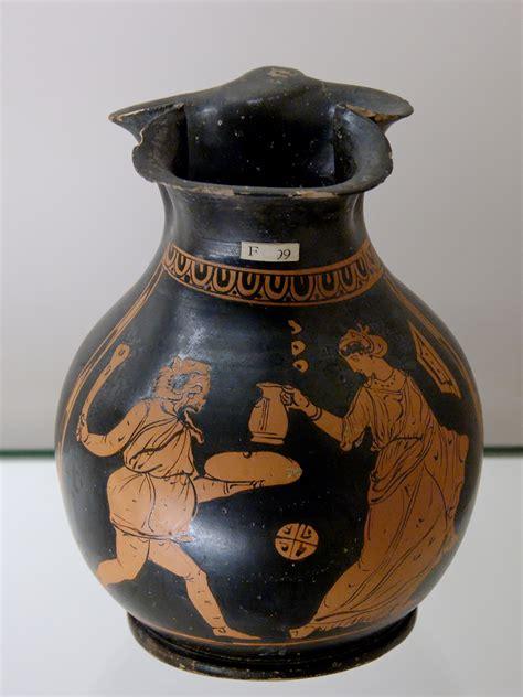 Oinochoe Vase by File Oinochoe Phlyax Bm F99 Jpg Wikimedia Commons