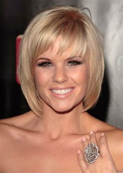 layered haircuts with bangs for woman in their 40s beautiful short bob hairstyles and haircuts with bangs