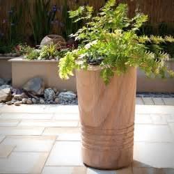 rainbow tall stone garden planter garden planters amp pots